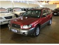 2005 SUBARU FORESTER 2.5 XSEL MANUAL 4x4