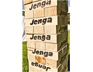 Hire Giant Jenga For A Party Wedding Fundraiser