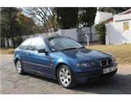 2002 BMW 318Ti E46 Manual Blue Sunroof