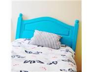 Reduced! Single turquoise headboard needs to go!