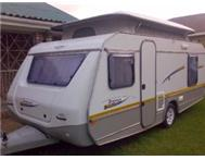 2005 Jurgens Palma caravan with full modular tent and verandah