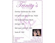 Make your nails beautiful at Trinity s Nails