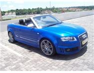 2007 Audi RS4 QUATTRO CONVERTIBLE