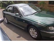 Immaculate Rover 75 Club Automatic