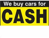 Wanted We Buy Cars For Cash! up to R20 000