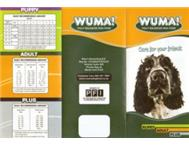 Wuma Dog Food - AGENTS REQUIRED - CERTAIN AREAS
