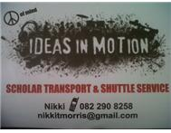 Ideas In Motion Transportation / Collection / Delivery Service in Travel & Tourism Western Cape
