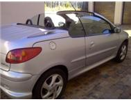 2005 Peugeot 206 CC 1.6 Coupe / Convertible with 73 000 km s