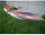 Chrysler speed boat shell to swop