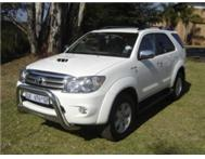 2010 TOYOTA FORTUNER 3.0D-4D MANUAL