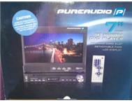 Pure audio car dvd player 7