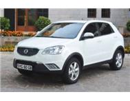 2013 Ssangyong Korando Brand New from R2999 p/m