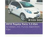 2010 Toyota Yaris 1.3 Zen For Sale in Cars for Sale Gauteng Eikenhof - South Africa