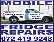 Mobile Fridge Repairs: 072 419 9248