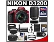 Nikon D3200 DSLR with Triple Lens Bundle Johannesburg