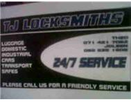 Tj locksmiths