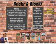 BRICKS & BLOCKS - BEST PRICES!!