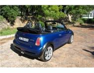 Mini Cooper S Convertible Very low km s & excellent condition