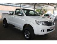 Toyota Hilux 3.0 D-4D Raider 4X4 Single Cab