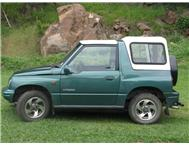 1998 Suzuki Vitara Jeep 2dr 4x4 Excellent Condition