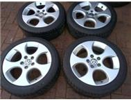 Golf 5 GTI 17 Inch Rims with tyre...