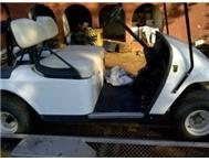 EZGO GOLF CART WITH TRAILER