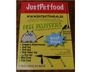 JUST PET FOOD Online Pet Food Store