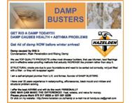 DAMP BUSTERS...... Damp-proofing specialists