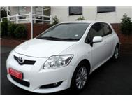 2008 Toyota Auris 1.6 RS
