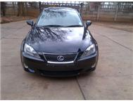 Lexus IS 250 SE. 2007 model