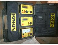 Fluke / Robin Electrical testing kit complete. perfect cond