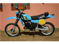 1979 Yamaha IT175 & YZ490 Classic Motocross / Enduro Bike For Sale in Classic Motorcycles North West Mafikeng - South Africa