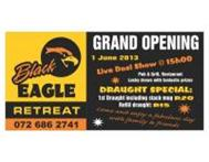 Black Eagle Retreat Grand Opening Event - Live Dozi show 15 00 MPUMALANGA