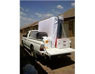 Bakkie hire for removals in Pretoria R200