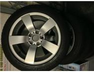 ORIGINAL BMW RIMS and TYRES - FULL SET