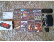PSP LATEST 3004 SLiM & LITE FULL PACKAGE or swop for cell