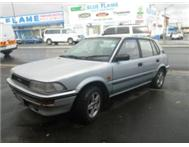 1992 TOYOTA CONQUEST 1300 5SPEED IN GOOD ALL AROUND