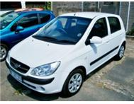 HYUNDAI GETZ 1.4 HIGH SPEC