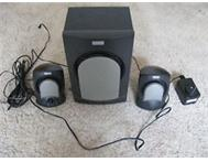 Altec Lansing 2.1 Computer Speakers (3-Speaker Black) - URGENT