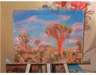 Oil Paintings Painting in Art Northern Cape Upington - South Africa