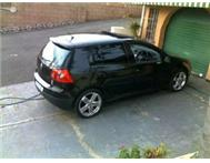 Black Golf5 GTI DSG gearbox