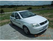 Opel Corsa 1.7 DTI Elegance2003 model. White colour Very low