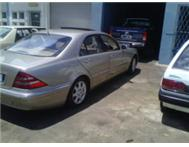 Merecedes benz S500 full house new tyres!! 1999 model