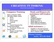 Creative Tutoring SA