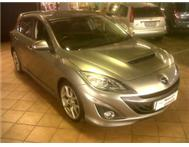 Mazda 3 MPS 2.3i (190kw) Manual.