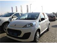 Drive a new Peugeot 107 Urban from R 1099 p/m.
