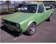 1985 VOLKSWAGEN CADDY 2.0L TURBO