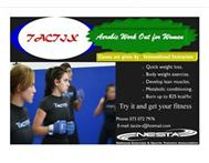 TACTIX aerobics..your quick and fun way to get in shape