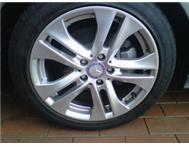 Mercede Benz Tyre and rim