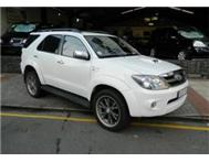 2008 Toyota Fortuner 3.0d-4d Raised Body